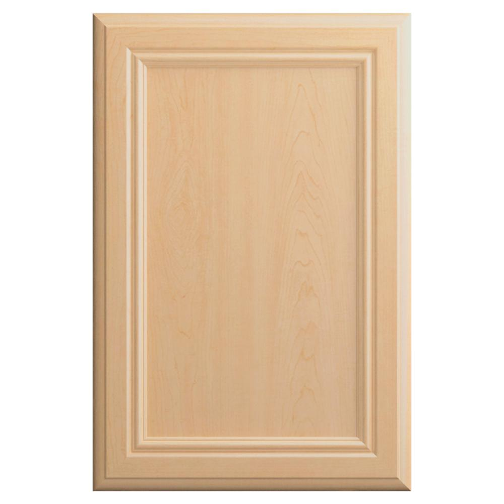 Hampton Bay 11x15 In Sprewell Cabinet Door Sample In Natural Hbdssd Mbm 01 The Home Depot