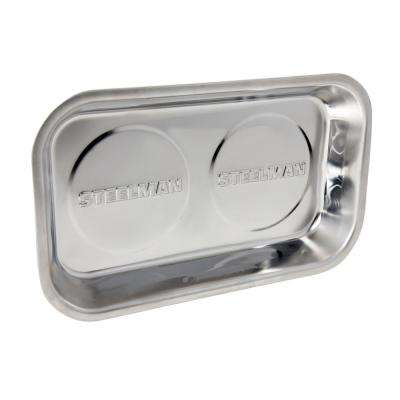 10 in. Rectangular Magnetic Parts Tray
