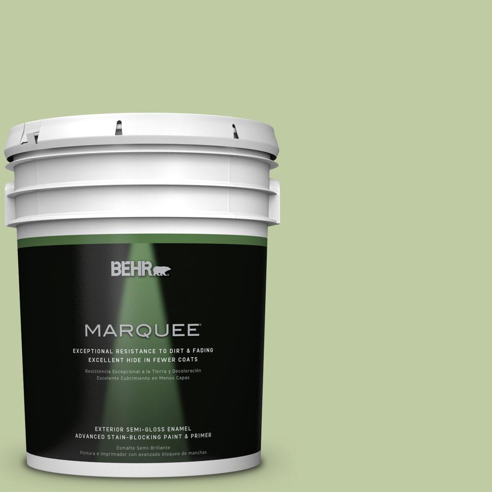 BEHR MARQUEE 5-gal. #M360-4 Marjoram Semi-Gloss Enamel Exterior Paint