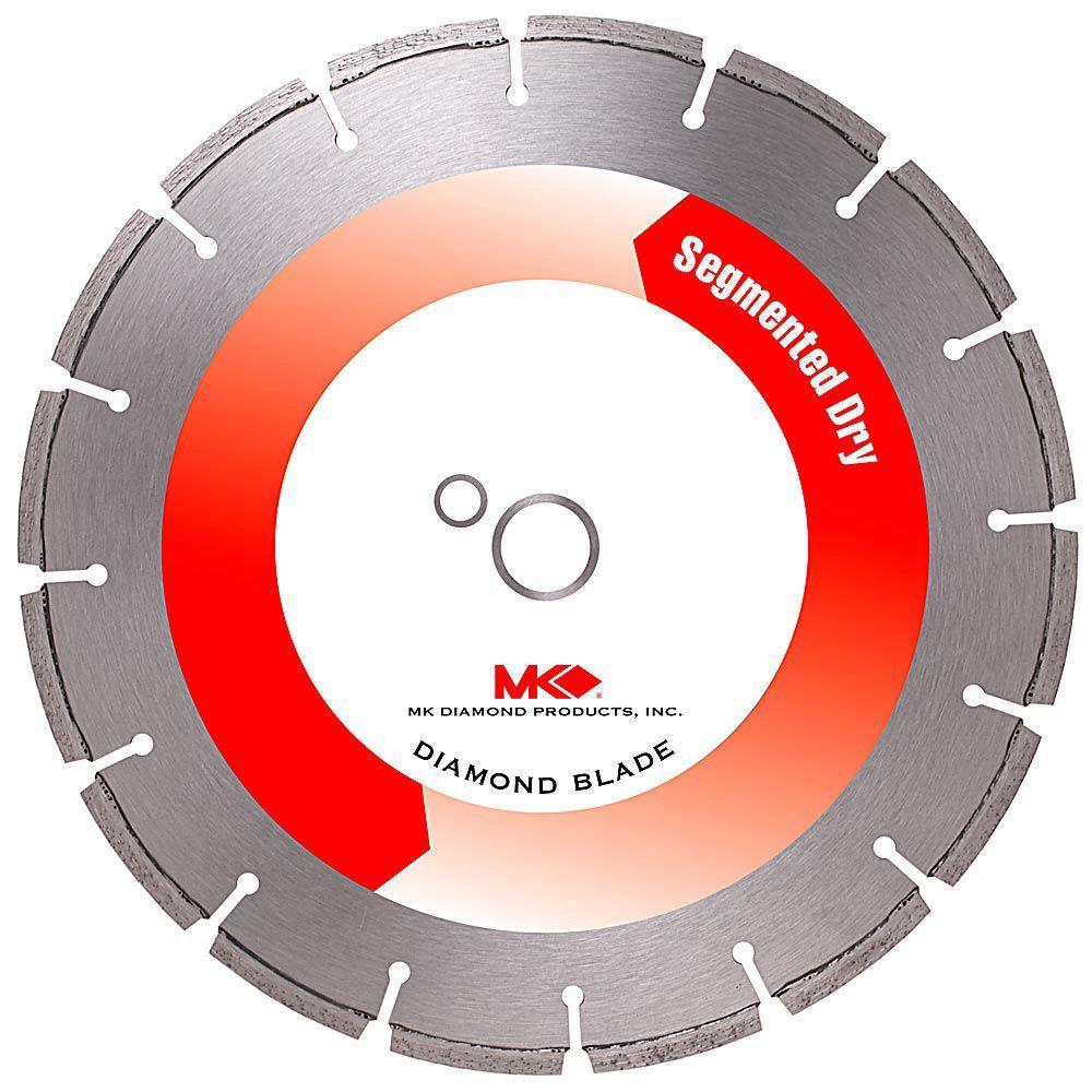 MK Diamond 12 inch x 16 Tooth General Purpose Dry Cutting Diamond Circular Saw Blade by MK Diamond
