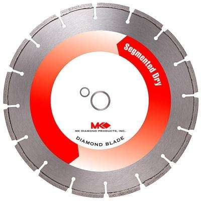 12 in. x 16 Tooth General Purpose Dry Cutting Diamond Circular Saw Blade