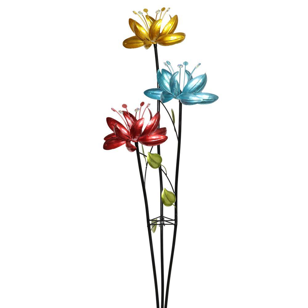 Exhart Triple Flower Branch Spinner 4