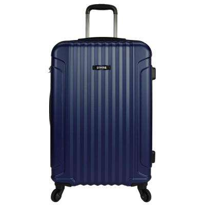 Akron 25 in. Hardside Spinner Luggage Suitcase, Navy