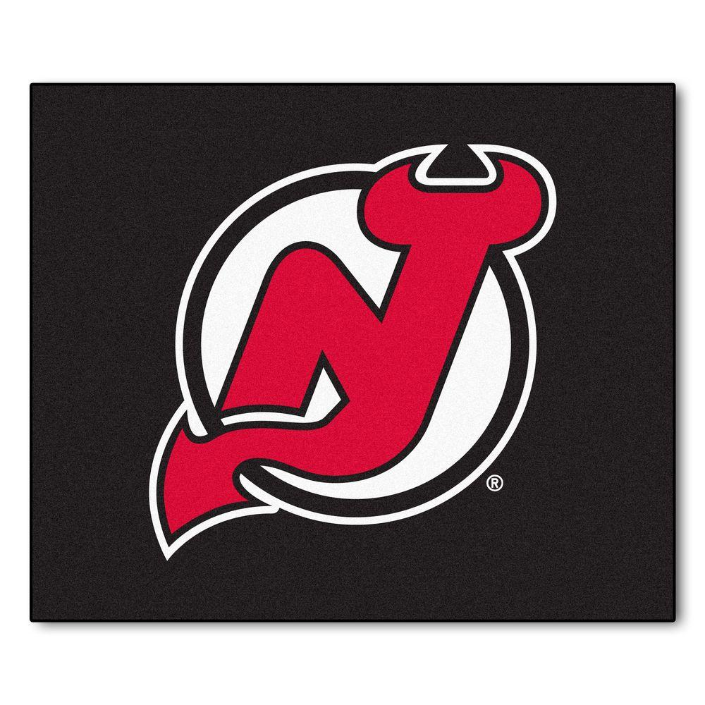 FANMATS New Jersey Devils 5 ft. x 6 ft. Tailgater Rug