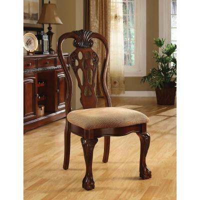George Town Cherry Traditional Style Side Chair