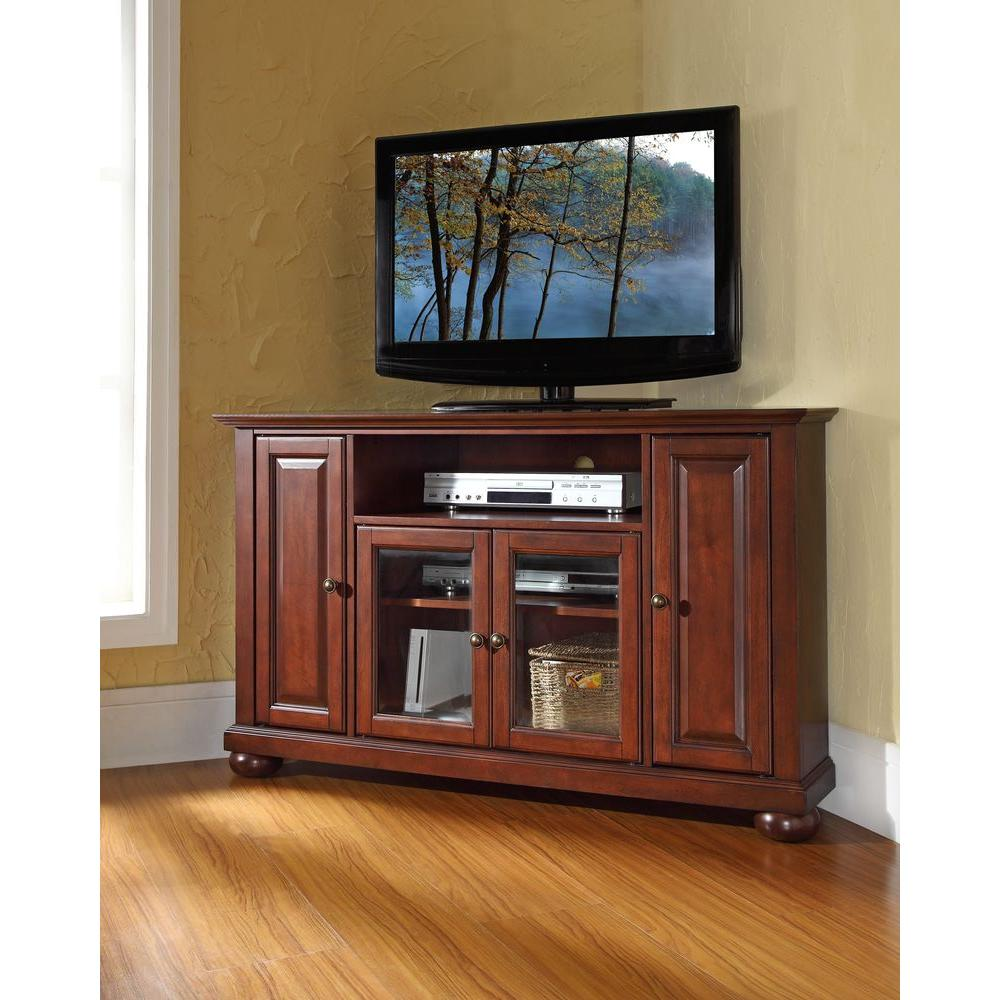 Crosley Alexandria Mahogany Entertainment Center Kf10006ama The
