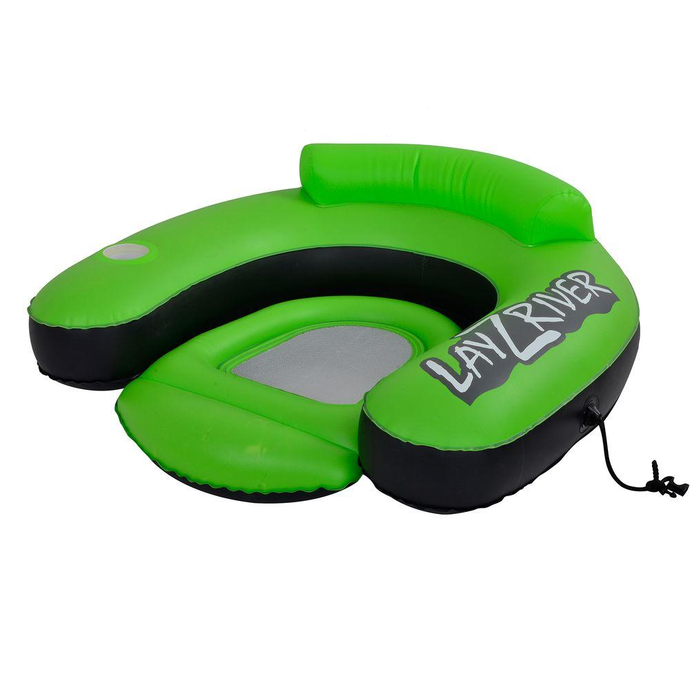 Pools & Spas Inflatable Lounge River Float Swimming Pool Raft Water Toy Chair Seat Lake Drink Yard, Garden & Outdoor Living
