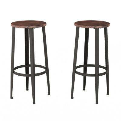 Admirable Bar Stool Round Seat Tripod Bar Stools Kitchen Gmtry Best Dining Table And Chair Ideas Images Gmtryco