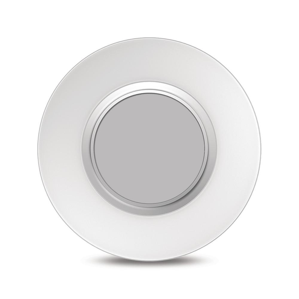 Sylvania SMART+ Surface Light 100-Watt Equivalent Adjustable White Integrated LED Flushmount