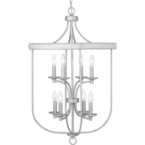 Gulliver 8-Light Galvanized Pendant