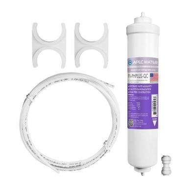 Ultimate 10 in. Calcium Carbonate Alkaline Filter Kit with 1/4 in. Quick Connect