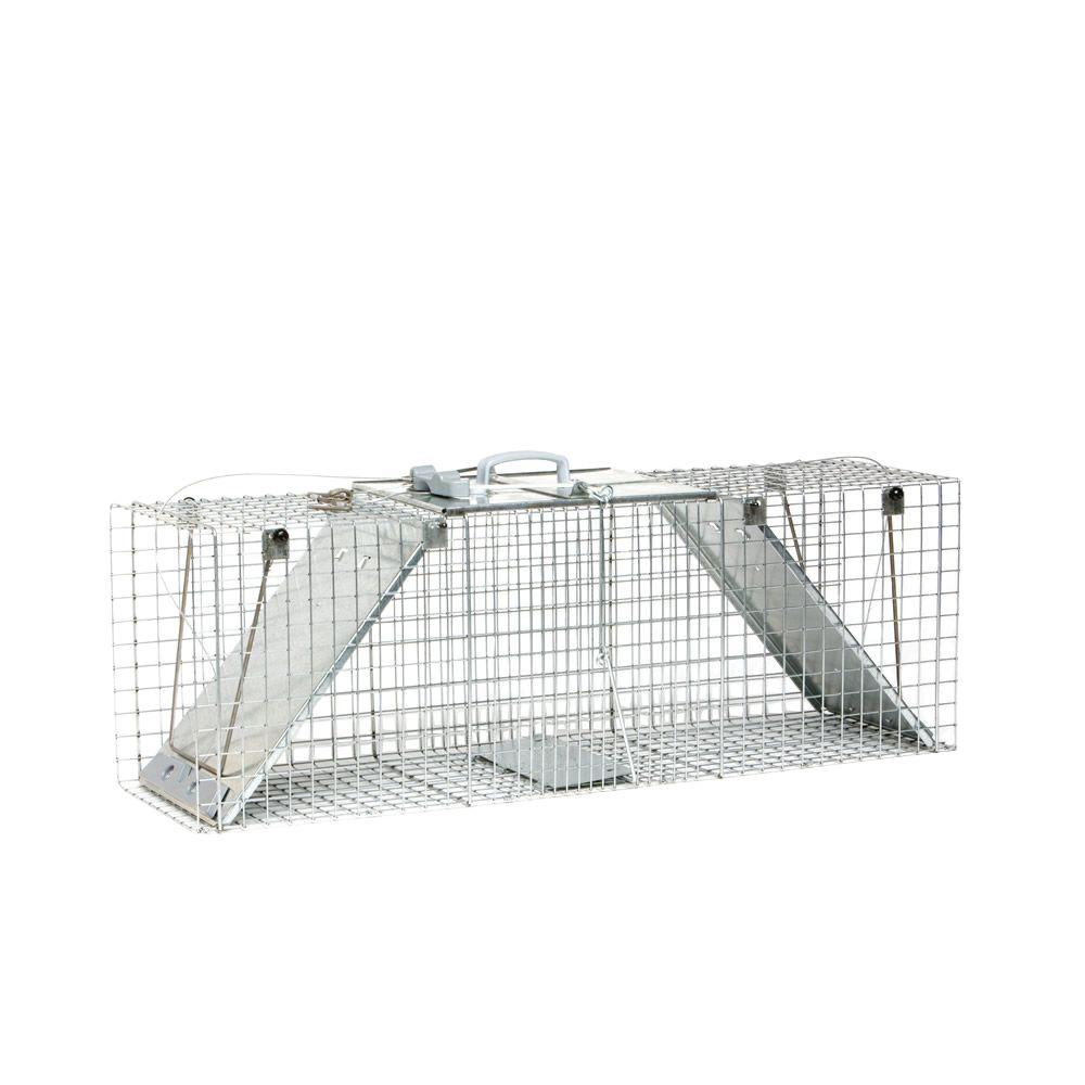Large 2-Door Easy Set Live Animal Cage Trap