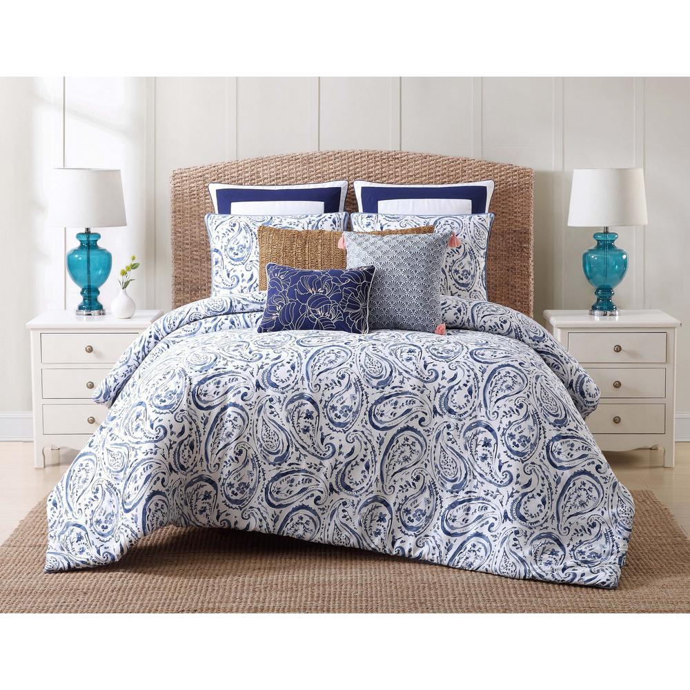 Oceanfront Resort Indienne Paisley Full/Queen Comforter Set