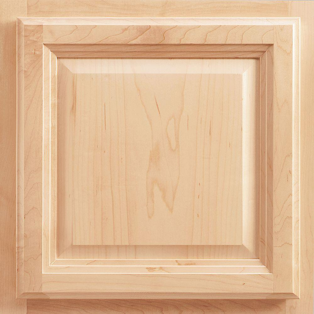 Charming Portland Maple Cabinet Door Sample In Natural
