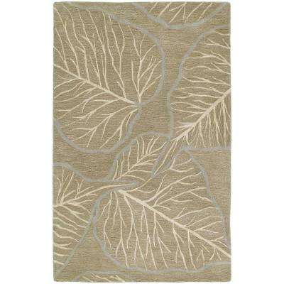 Astronomy Newton Chocolate 3 ft. x 5 ft. Area Rug