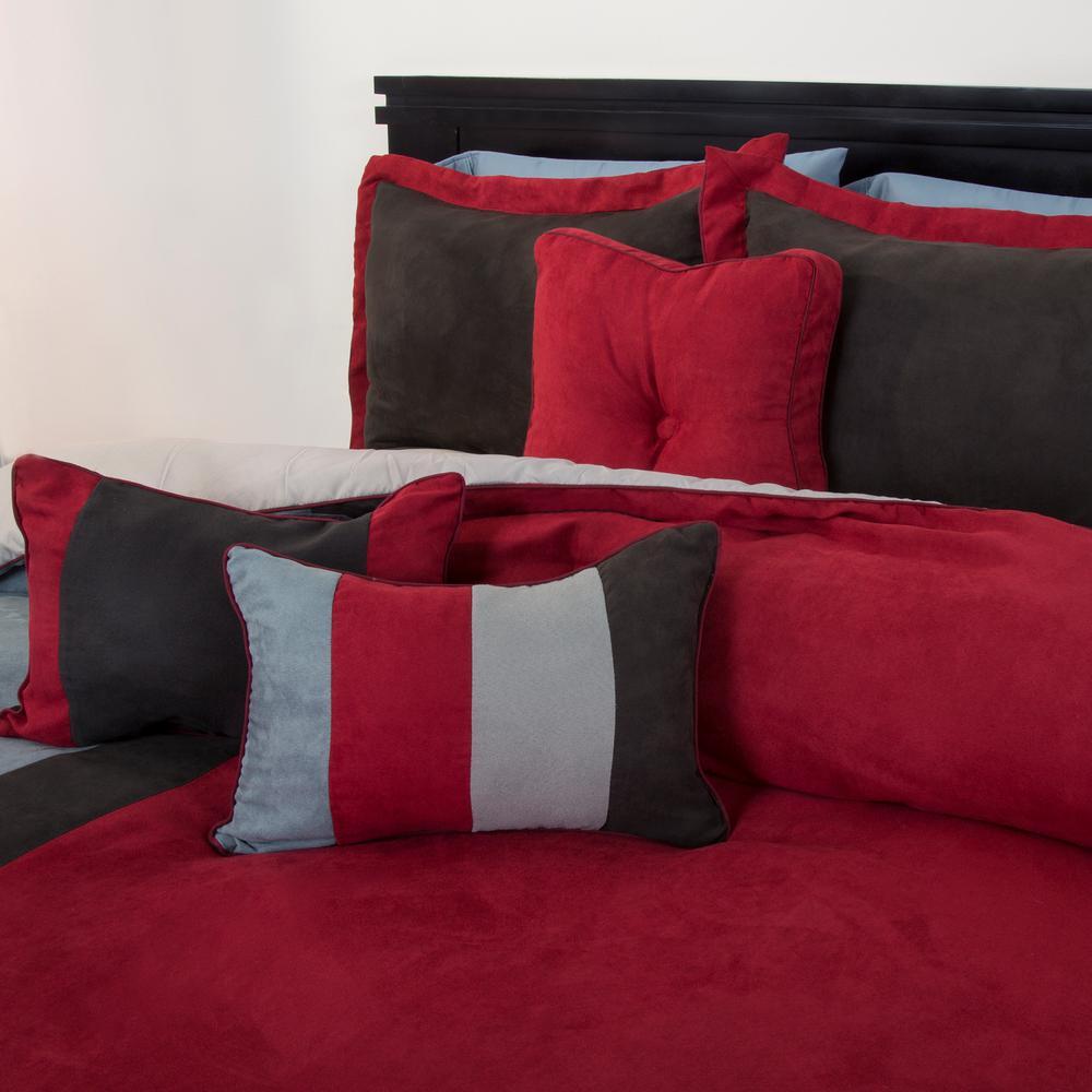 Rhea 7-Piece Red Queen Comforter Set
