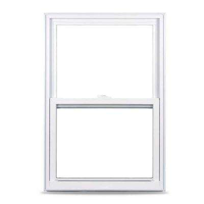 23.375 in. x 35.25 in. 50 Series Single Hung White Vinyl Window with Nailing Flange