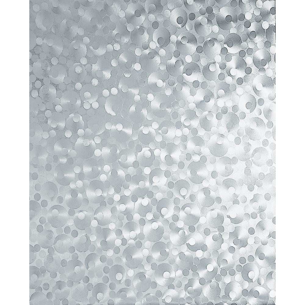 Dc Fix Pearl 17 In W X 78 In H Home Decor Self Adhesive Window Film 2 Pack