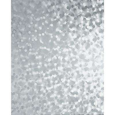 Pearl 17 in. W x 78 in. H Home Decor Self Adhesive Window Film (2-Pack)