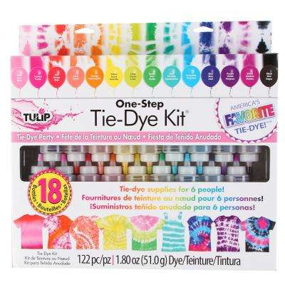 One-Step Tie Dye 18 Bottle Kit