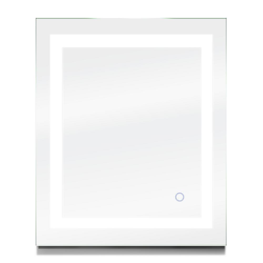 909e3c2ebd8162 Dyconn Edison 36 in. x 30 in. LED Wall Mounted Backlit Vanity Bathroom LED