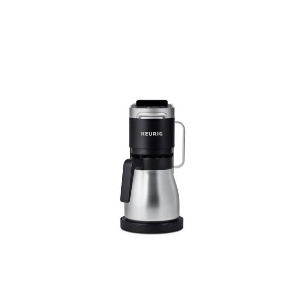 K Duo Plus 12-Cup Black Matte Single Serve and Carafe Coffee Maker