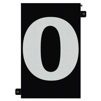 5 in. Modular LED Illuminated House Number 0
