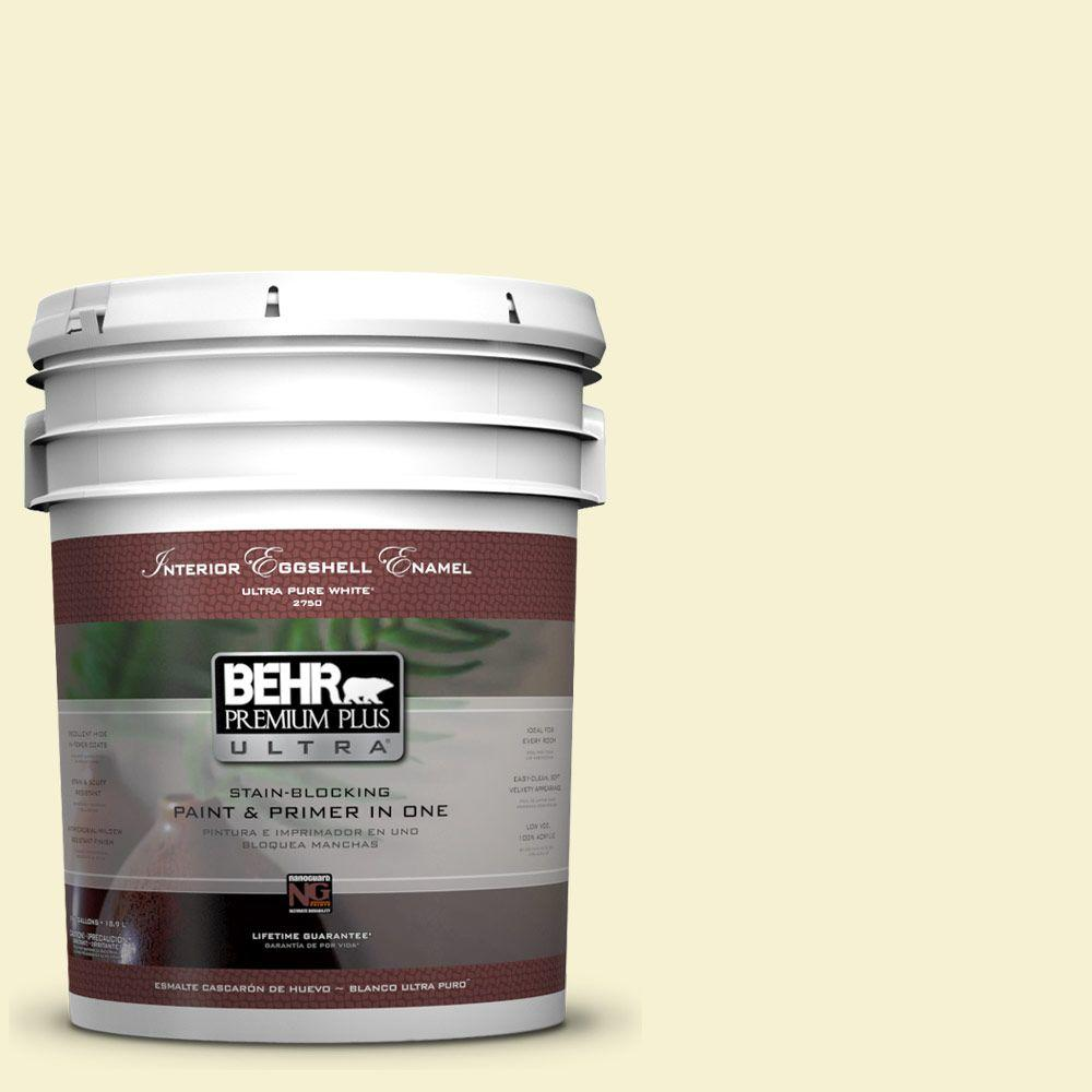 BEHR Premium Plus Ultra 5-gal. #P340-1 Admiration Eggshell Enamel Interior Paint