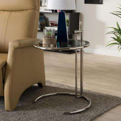 Eileen Modern Silver Metallic Finished End Table