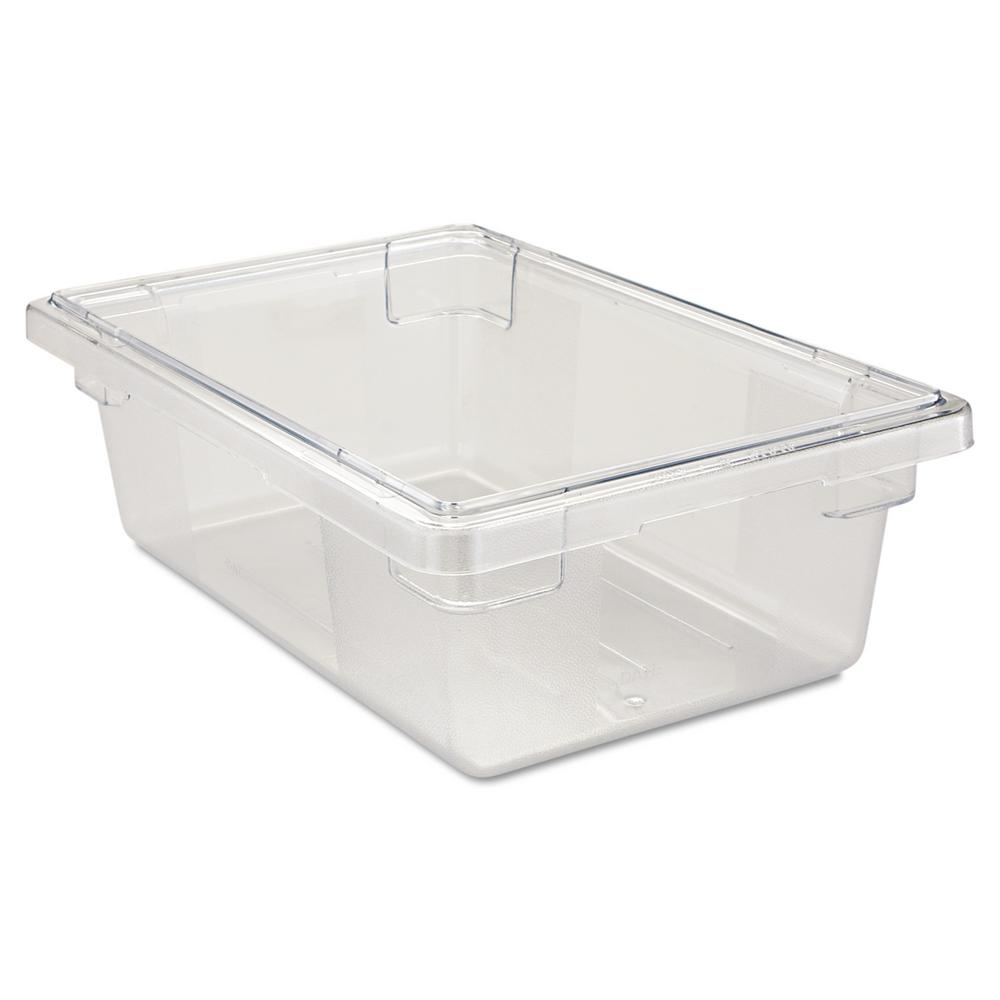 Exceptionnel Rubbermaid Commercial Products 3 1/2 Gal. Clear Food Storage Box