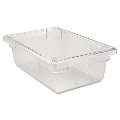 3-1/2 gal. Clear Food Storage Box