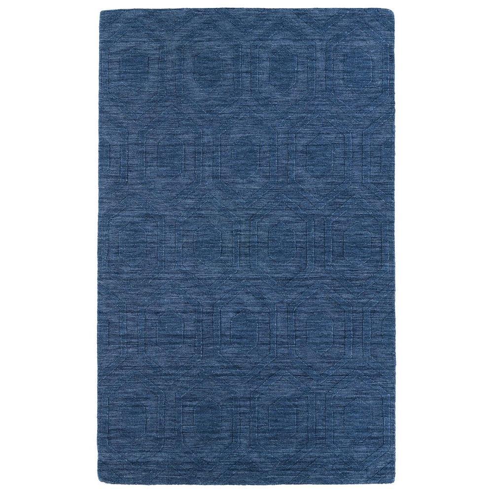 Kaleen Imprints Modern Blue 2 ft. x 3 ft. Area Rug