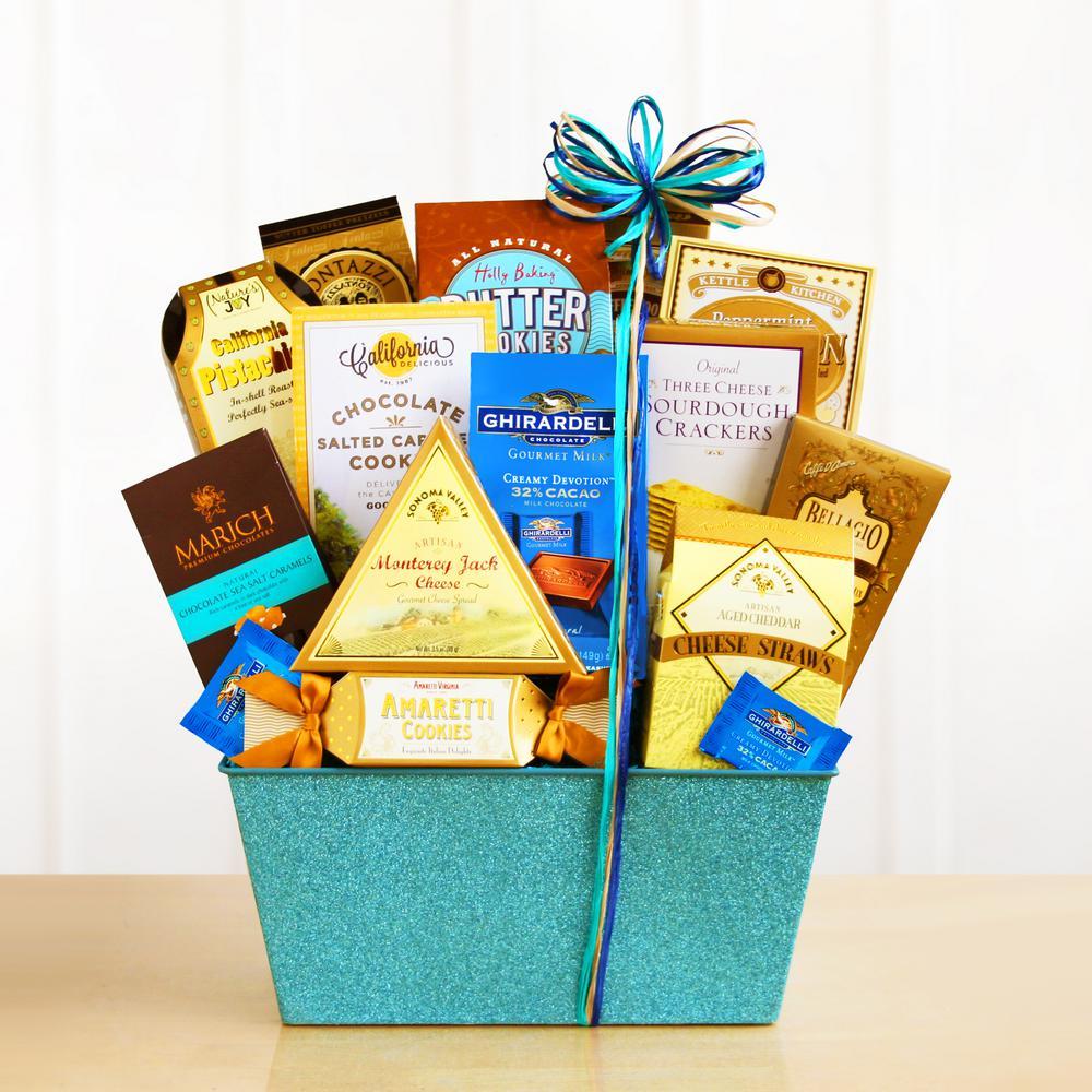 California Blue Sky Sparkling Gourmet Gift