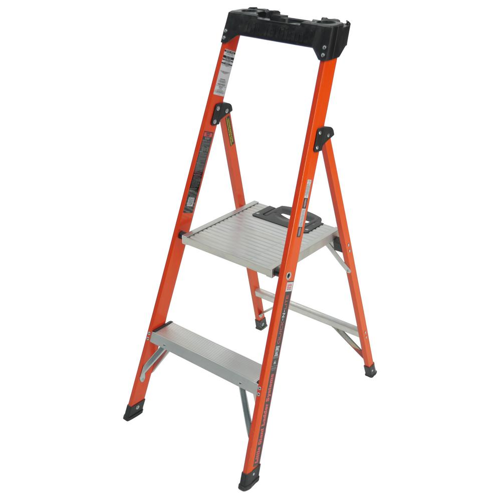 Little Giant Ladder Systems Quick N Lite 4 Ft Fiberglass