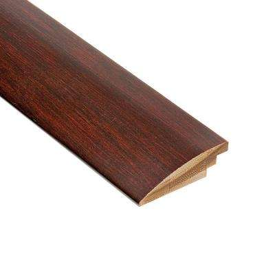 Horizontal Chestnut 9/16 in. Thick x 2 in. Wide x 78 in. Length Bamboo Hard Surface Reducer Molding