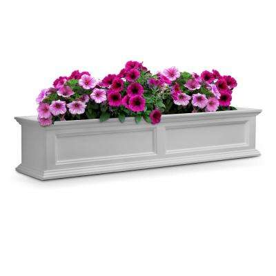 Fairfield 11 in. x 60 in. Plastic Window Box