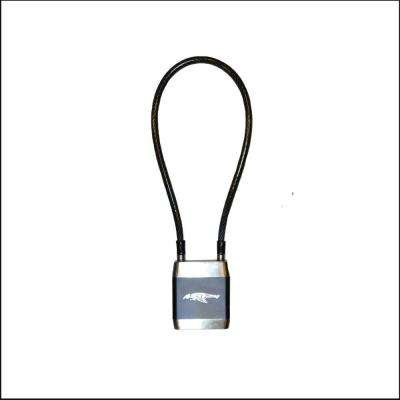 20 inch Cable Zinc Alloy Biometric Fingerprint Operated Cable Lock