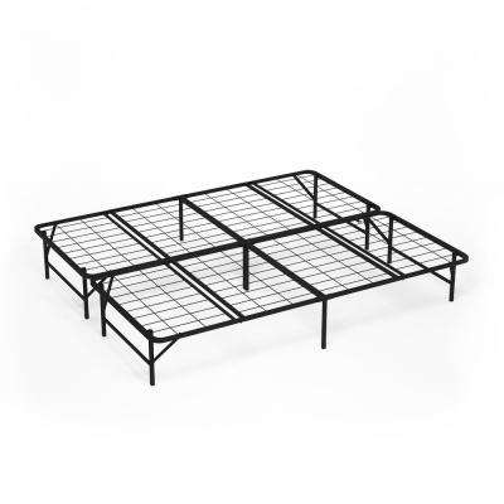 Angeland Mattress Foundation Platform King Metal Bed Frame