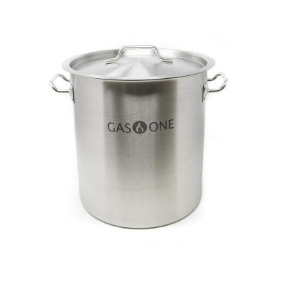20 Qt. Stainless Steel Stock Pot with Lid