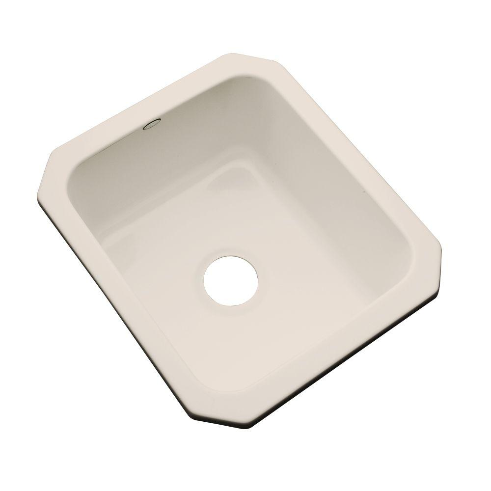 Thermocast Crisfield Undermount Acrylic 17 in. Single Bowl Entertainment Sink in Desert Bloom