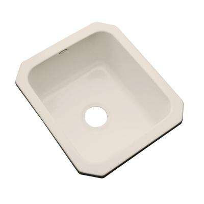 Crisfield Undermount Acrylic 17 in. Single Bowl Entertainment Sink in Desert Bloom