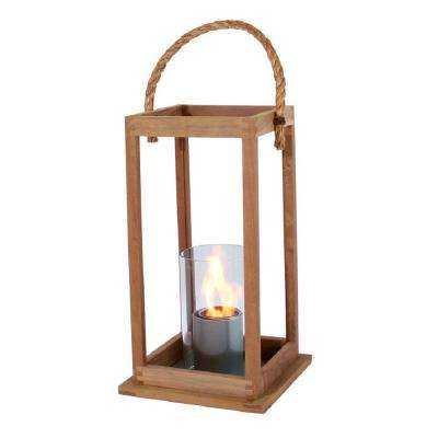 21 in. Cape Cod Lantern in Teak Wood (Medium Size)