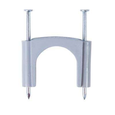 15/16 in. Polyethylene Service Entrance Cable Staple - Gray (10-Pack)