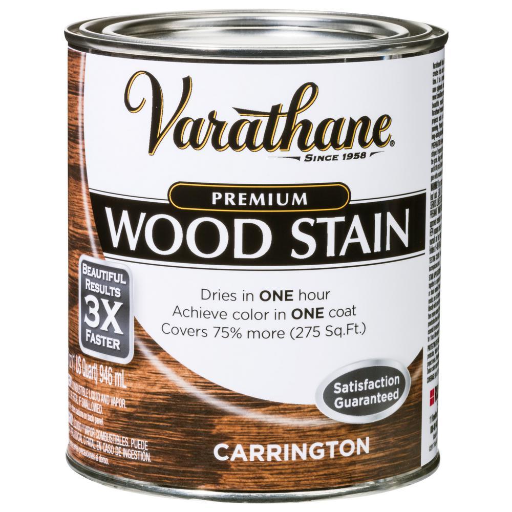 1 qt. Carrington Premium Fast Dry Interior Wood Stain (2-Pack)