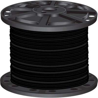 1,000 ft. 3 Black Stranded CU SIMpull THHN Wire
