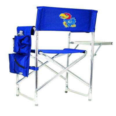University of Kansas Navy Sports Chair with Digital Logo