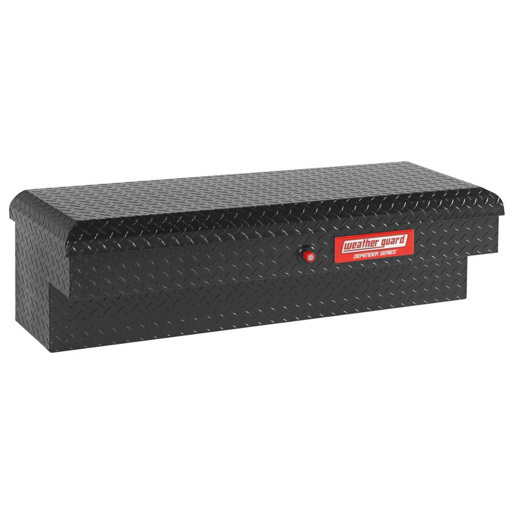 Defender Matte Black Aluminum Lo-Side Truck Box (46 in. x 15 in. x 13 in.)