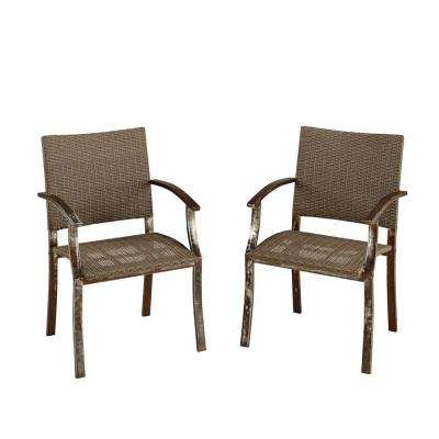 Urban Pair Of Outdoor Patio Dining Chair