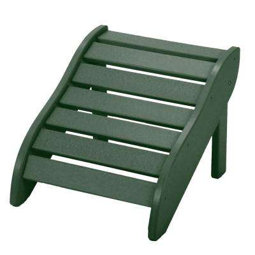 Essentials Pawleys Green DuraWood Outdoor Ottoman Footrest