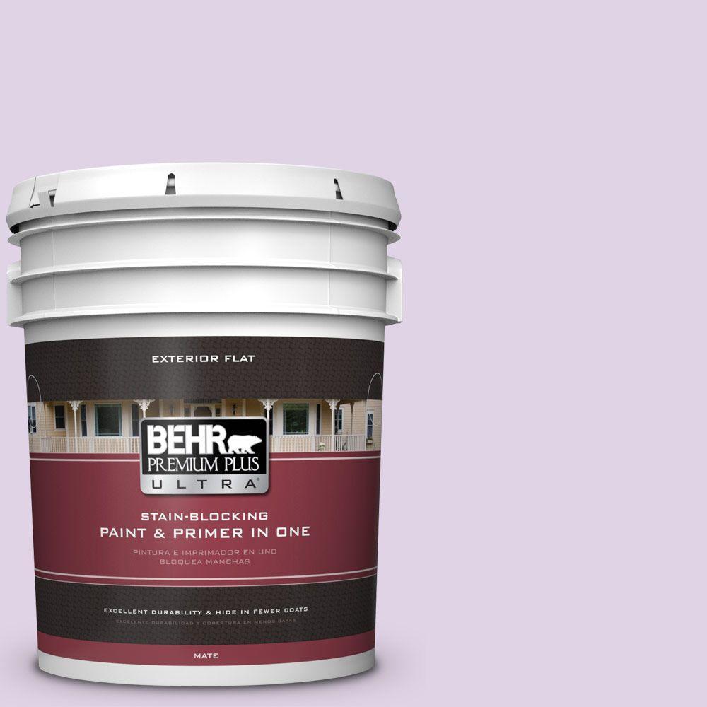BEHR Premium Plus Ultra 5-gal. #M570-2 Monologue Flat Exterior Paint